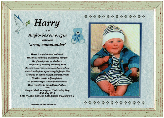 Christening Gifts For Boys