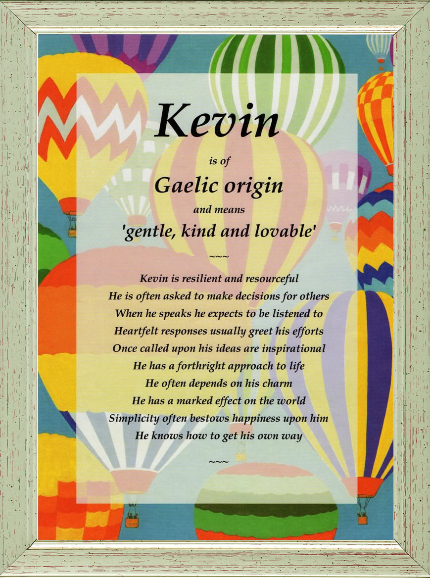 kevin name meaning